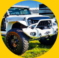 car, truck, & Jeep parts powder coating