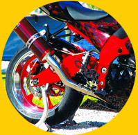 motorcycle powder coating & motorcycle wheels powder coating