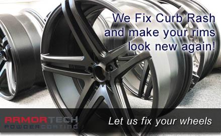 Curb Rash Repair & Rim Repair