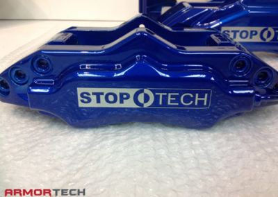 brake calipers powder coating with decals
