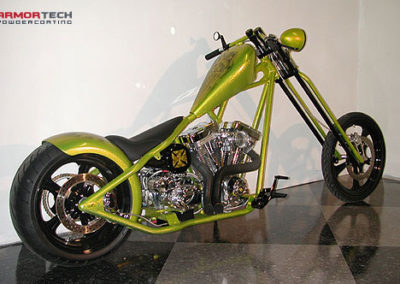 custom motorcycle powder coating