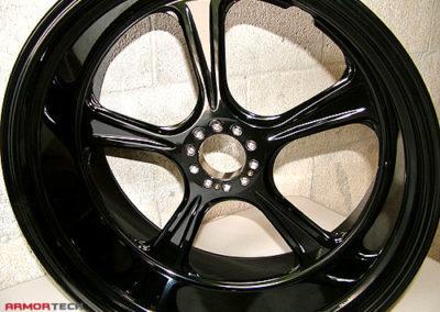 powder coat motorcycle wheels