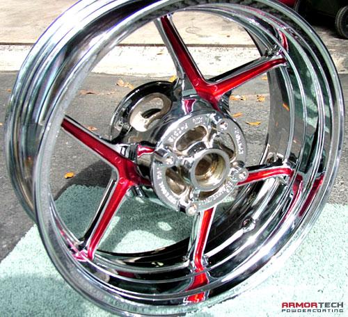 Curb Rash Repair >> powder coating motorcycle rims - ArmorTech Powder Coating