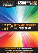 powder coat colors from prismatic powders
