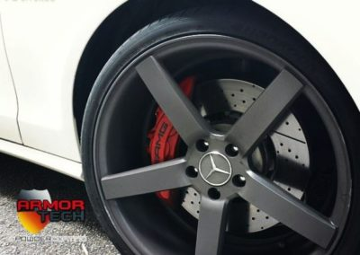 calipers and wheels powder coating