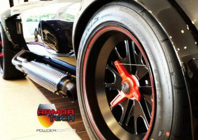 automotive car & wheels powder coating
