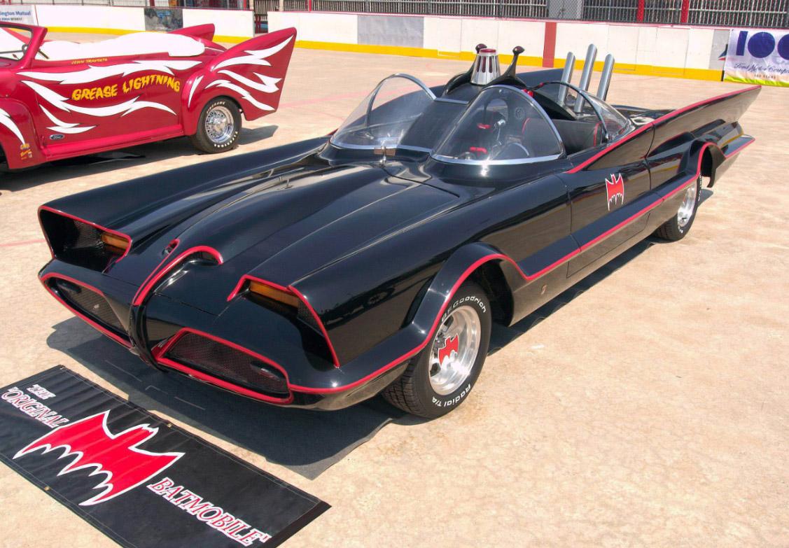 famous cars - Bat mobile