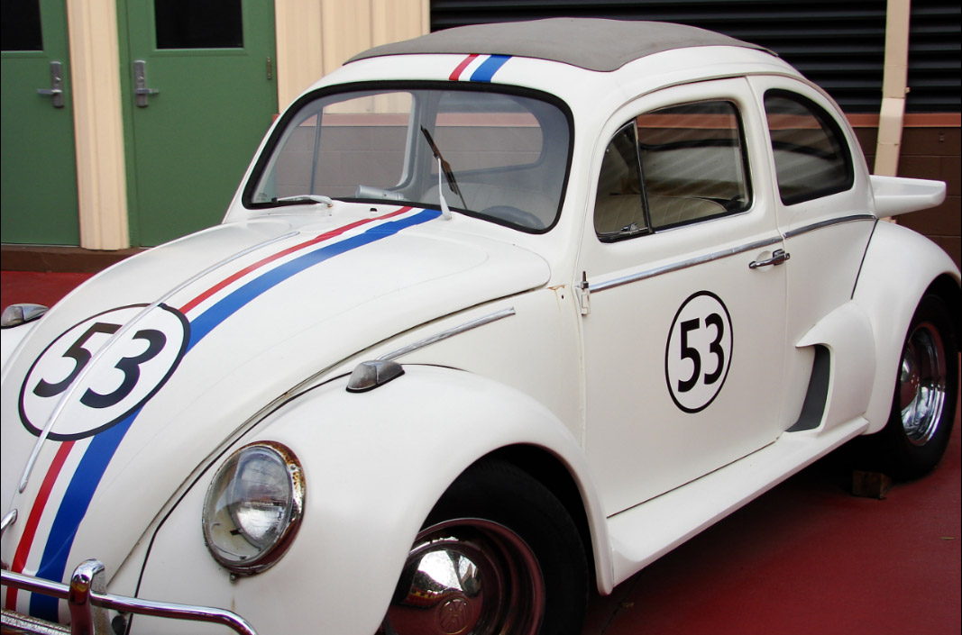 famous cars - Herbie