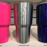 Yeti Tumbler Cups style powder coated